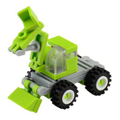 34 PCS DIY Excavator Building Blocks for Kids in stock 2018 new lepin 20023 1166pcs technology series excavator toy building blocks toys for children gift 42053