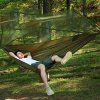 Outdoor Double Camping Hammock with Mosquito Net - ARMY GREEN