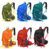 Men Outdoor Rip Resistant Nylon Backpack - FERN GREEN
