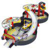 Kids Assembled Tires Engineering Parking Lot Toy Model - MULTI