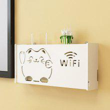 WPC Wireless Router Storage Rack