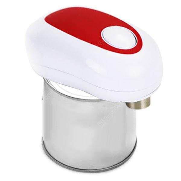 Electric Automatic Creative Can Opener - RED