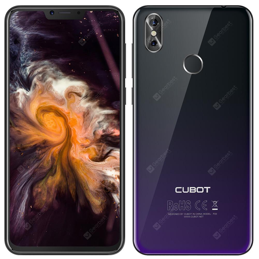 CUBOT P20 4G Phablet - TWILIGHT BLACK--Lancement exclusif-  4+64g--6.18 FHD+---B20
