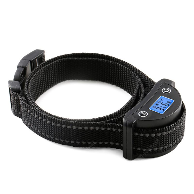 Gocomma PD218 Dog Bark Collar Safety Humanely Stops Barking with Sound Vibration
