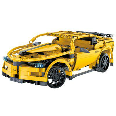 Double E Cada Assembled Car Building Block Toys