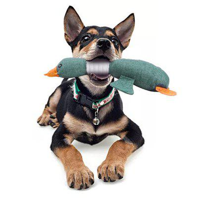 Lovely Wild Goose Pet Dog Puppy Toy Cat Chew Squeaker