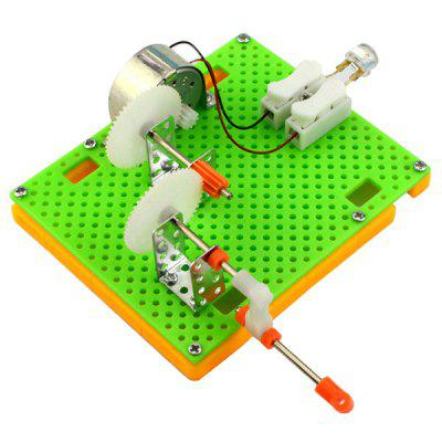 DIY Puzzle Hand Generator Gadget Toy for Children