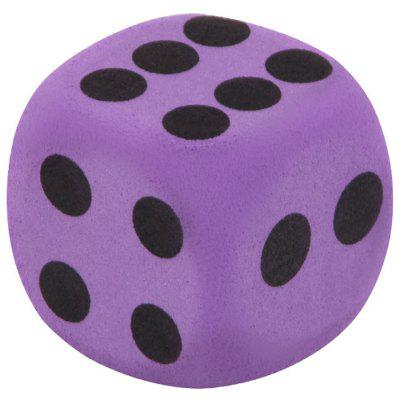 Giant EVA Foam Dirt-resistant Playing Dice for Kids