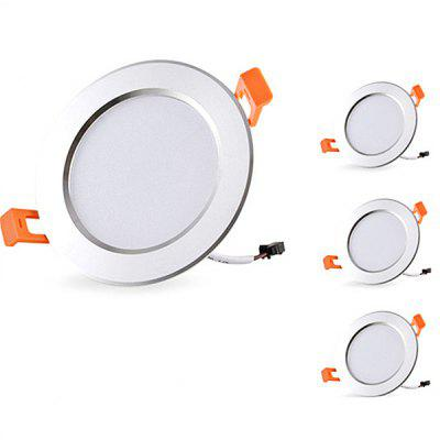 5W 500lm Recessed LED Downlight AC85 - 265V 4PCS