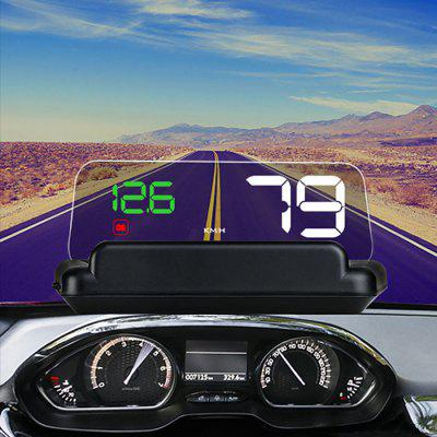 C500 5 polegadas OBD2 HUD Head-up Display
