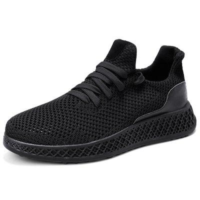 Men Stylish Breathable Shock-absorbing Anti-slip Sneakers