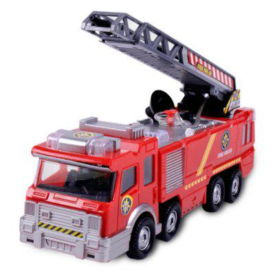 Dabble Puzzle Music Fire Engine Toy for Children