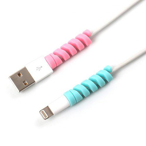 Silicone Data Cable Protective Case 4PCS