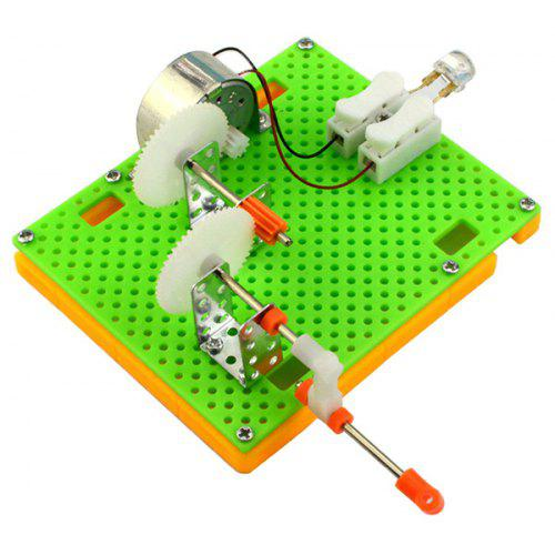 DIY Puzzle Hand Generator Gadget Toy for Children MULTI