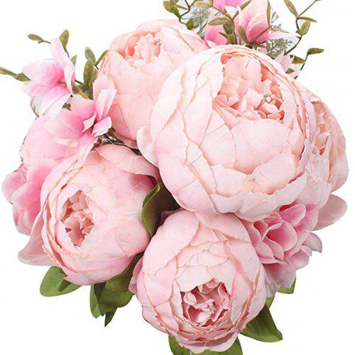 High End European Style Core Peony Artificial Flower For Wedding