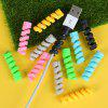 Silicone Data Cable Protective Case 4PCS - MULTI-A