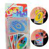 PVC UNO Card Board Game - MULTI-A