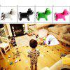 Anti-lost Cute Dog Look Whistle Sound LED Light Alarm Key Finder - ZIELONY