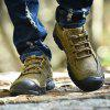 Outdoor Leisure Anti-slip Crash Toe Leather Sports Shoes - MOCCASIN