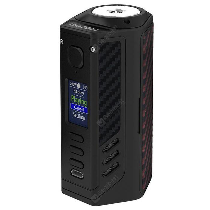 Կորցրած Vape Triad 300W DNA250C TC Box Mod