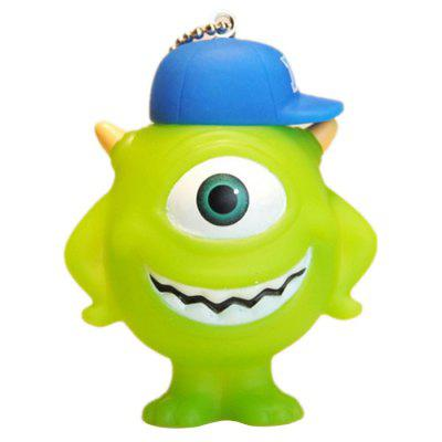 PVC One-eyed Monster Shape Key Chain Collection Gift Key Ring