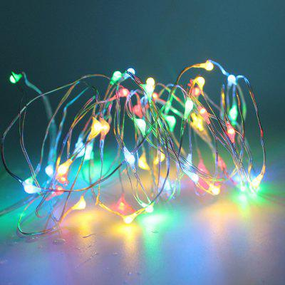 5m 50-LED Copper Wire Light String with Battery Box
