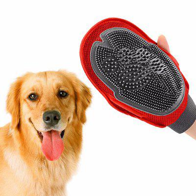 Pet Bath Hairs Brush Glove do masażu