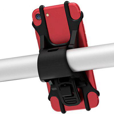 Shockproof Silicone Bicycle Mobile Phone Bracket