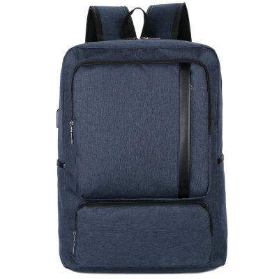 FLAMEHORSE Large-capacity Casual Computer Backpack with USB Charging Interface
