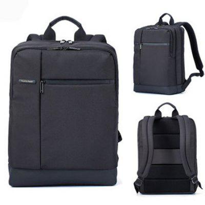 Gearbest Xiaomi Men Classical Business Laptop Backpack - BLACK