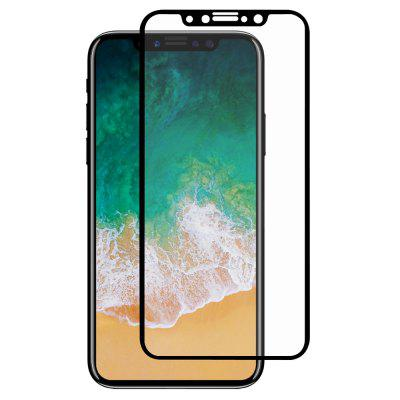 Hat - Prince 0.26mm 9H 2.5D Arc Tempered Glass Front + Back Screen Protector Film for iPhone X