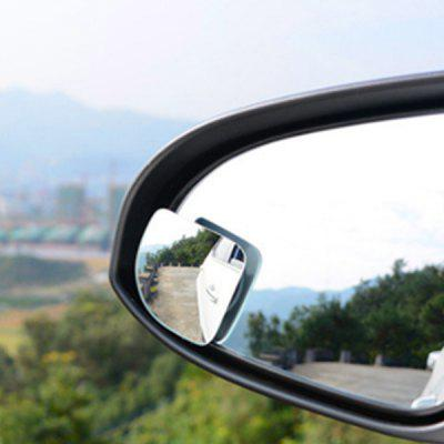 Car Rear View Auxiliary Mirror Wide-angle Lens  Blind Sport Mirror 1 pair