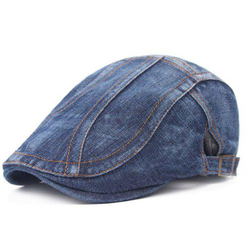 62f2c144ad9 Outdoor Casual Denim Beret -  5.59 Free Shipping
