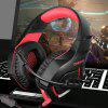 ONIKUMA K1S Game Headset Over-ear Stereo Headphone - LOVE RED