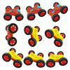 Kids Novelty Double-sided Dump Car Truck Toy - YELLOW