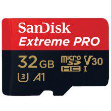 SanDisk Micro SD Card TF Card UHS-I U3 Support 4K   – RED 32GB – (WH: China) –
