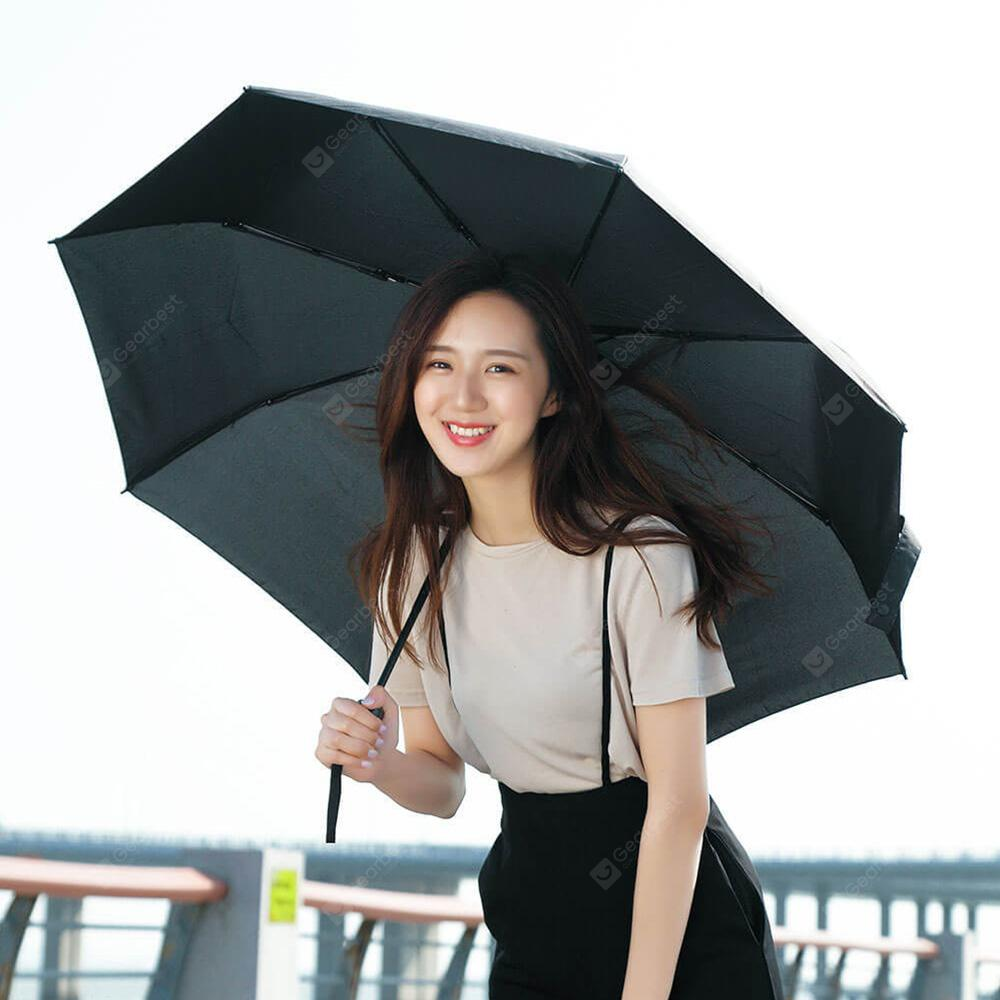 Pinluo Tri folded Umbrella from Xiaomi BLACK