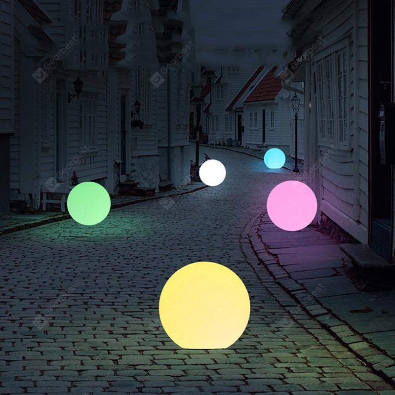 Outdoor Solar Ball-shaped Decor Light