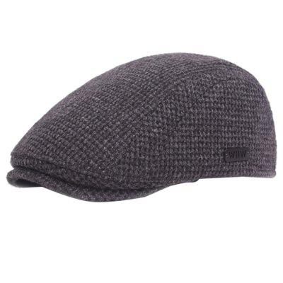 Outdoor Casual Thicken Cotton Beret for Men