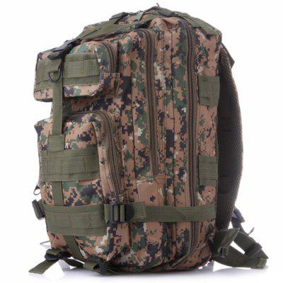 HQB Military Camouflage 3P Tactical Attack Backpack for Outdoor Sports Hiking Trekking Bag