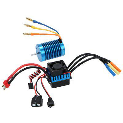 3650 4370KV Brushless Motor + 45A Brushless ESC