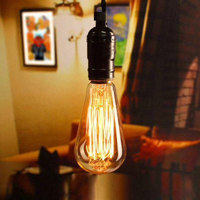 BRELONG E27 40W Carbon Filament Light Bulb