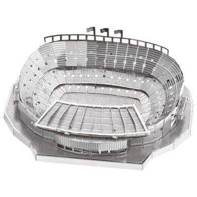 3D Metal Football Field Model Fit for Children
