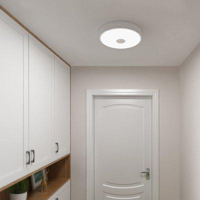 Gearbest Yeelight YLXD09YL Induction LED Ceiling Light Anti-mosquito for Home ( Xiaomi Ecosysterm Product ) 1PC - WHITE 1PC Human Body / Photosensitive Sensor AC220 - 240V