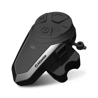Gearbest Alfawise BT - S3 Motorcycle Bluetooth Helmet Intercom Headset - BLACK