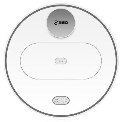 Gearbest 360 S6 Automatic Robotic Vacuum Cleaner - WHITE Remote Control Cleaning Robot