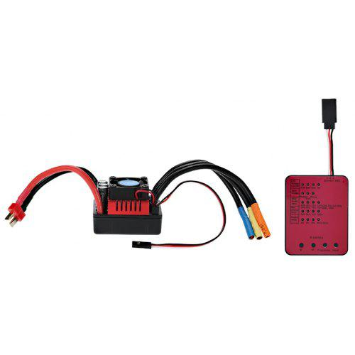 S 120A Brushless ESC + Programming Card Set for 1/8 RC Car