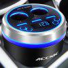 ACCNIC 3 USB Ports Charger Car Kit - BLUE