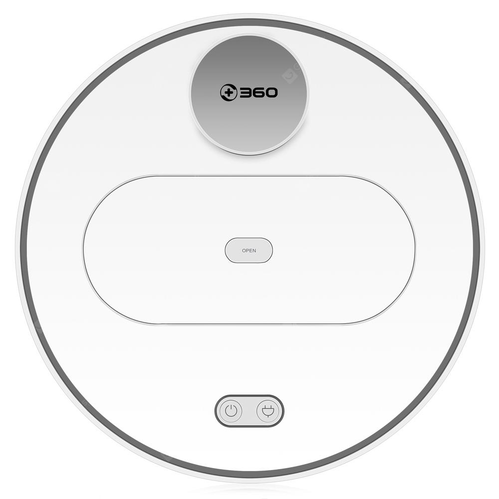 360 S6 Robot Vacuum Cleaner 1800Pa Suction Mopping Sweeping Mode APP Remote Control LDS Lidar SLAM Algorithm- White