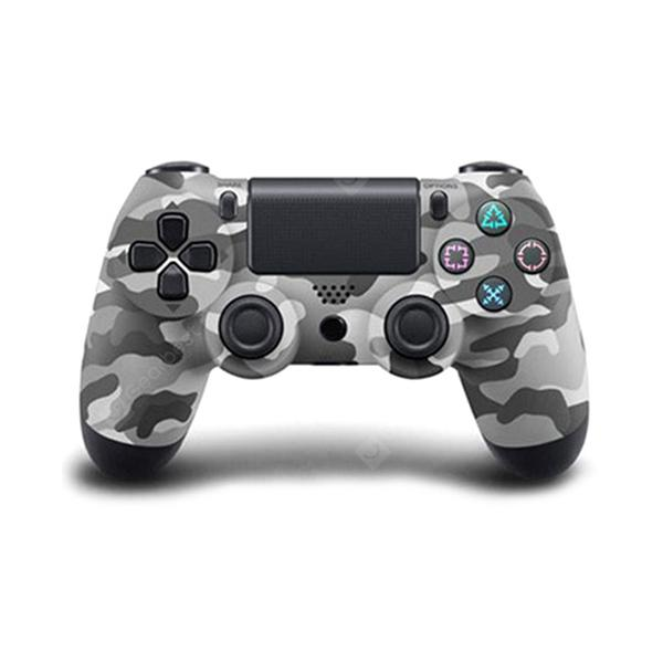 Controller wireless Bluetooth portatile con cavo USB per PS4 - ACU CAMOUFLAGE